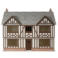 Oak House Dolls House Kit