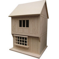 Tudor Shop / House - Unpainted Kit (1:24 scale)