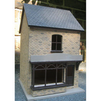 Small Shop - 1:24 scale Externally Decorated Dolls House