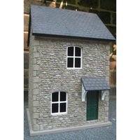 Small House - 1:24 scale Externally Decorated Dolls House