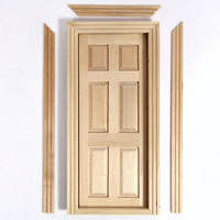 Wooden Interior Door for 1:12 Scale Dolls House
