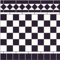 Black & White Wall Tile Sheet