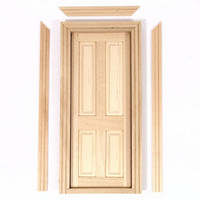 Wooden Interior Door - 4 Panel