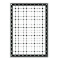 Black & White 'Fenice' Tile Sheet
