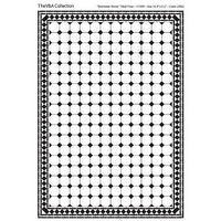 Black & White 'Diamante' Tile Sheet