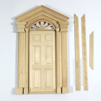Deluxe Front Door for 1:12 Scale Dolls House *DAMAGED*