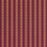 Renaissance Dolls House Wallpaper - Warm Red