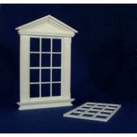Georgian 12 Pane Window (Plastic) 1:12