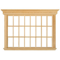 Large Window Frame - 24 Pane