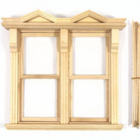 Georgian Large Sash Window with Glazing