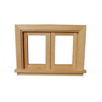 Opening Window Frame for 1:12 Scale Dolls House