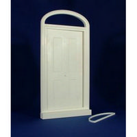 Large Victorian Front Door (Plastic) 1:12 scale