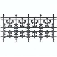Wrought Iron Railing (plastic)
