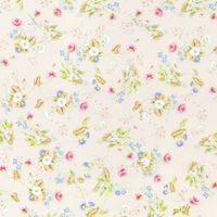 Rocco Silk Dolls House Wallpaper - Pink