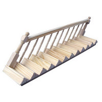 Staircase with Banister 1:12 Scale