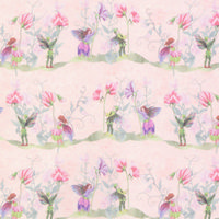Faeries Wallpaper Pink