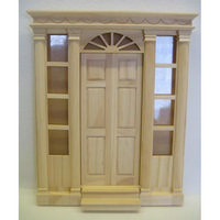 Large Front Door with Side Windows