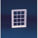 Victorian 12 Pane Window Frame (Plastic) 1:24 scale