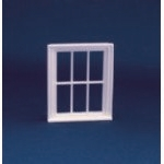 Victorian 6 Pane Window Frame (Plastic) 1:24 scale