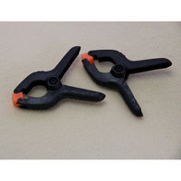 60mm Plastic Spring Clamps Pack of 2