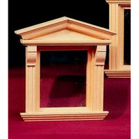 Victorian Single Dormer Window 1:12 scale