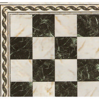 Black & White Marble Effect Tile Sheet - Gloss Card