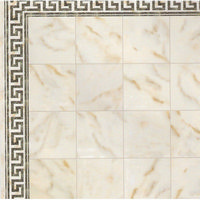 Light Marble Effect Tile Sheet - Gloss Card