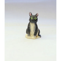 Black & White Cat for Dolls House