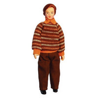Doll Dressed with Modern Sweater