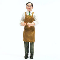 Resin Shopkeeper Figure - 1:12 scale