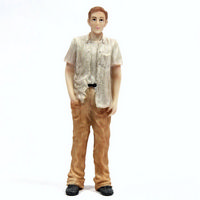 Resin Man Figure - 1:12 scale