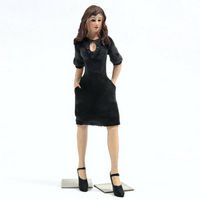 Dolls House Resin Woman Figure