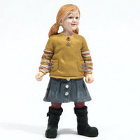 Resin Little Girl Figure