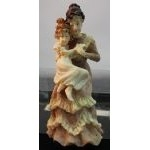 Dolls House Resin Woman & Child