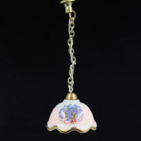 Porcelain Chain Ceiling Light 12th Scale