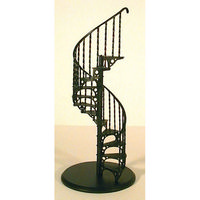 Metal Spiral Staircase Kit - 1:12 scale