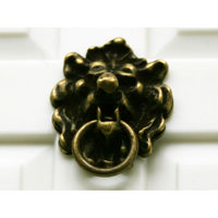 Door Knocker with Antique Lion Head Design