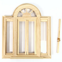 Circlehead Double Casement Window