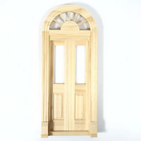 Palladian Double Entry Door