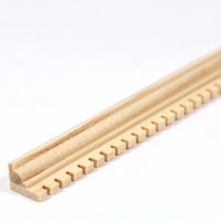 "Dolls House Dentil Moulding 18"" Length"
