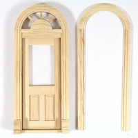 Palladian Door - 1:24 scale