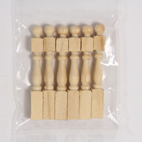 Newel Posts x6 - 1:24 scale