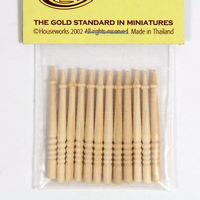 Stair Spindles x12 - 1:24 scale