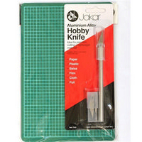 Hobby Knife with Blades & Cutting Mat