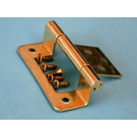 Single Cranked Hinge with Screws (6mm)
