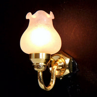 Floral Wall Sconce Dolls House Light