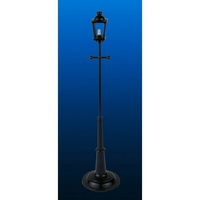 Working Victorian Lamp Post - LED Includes Battery