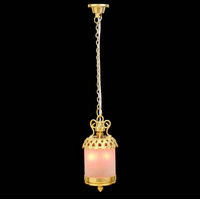 Birdcage Lamp with 2 Bulbs