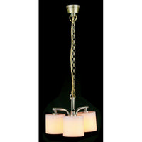 Modern 3 Light Chandelier Palace Shade