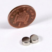 2x Strong Magnets - 6mm dia x 3mm thick